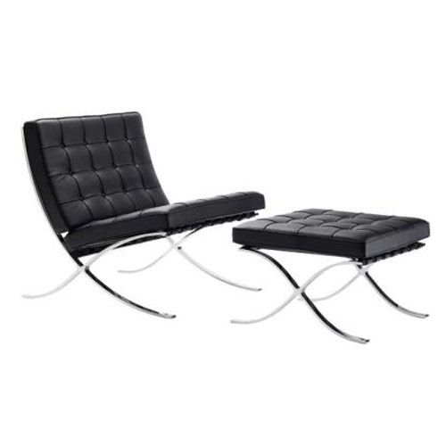 Barcelona sessel von mies van der rohe for Poltrona mies