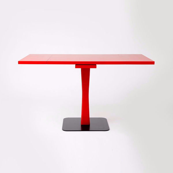 Extensible table gualtiero design paolo cappello miniforms for Table extensible 80
