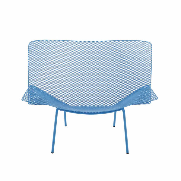 Poltrona grillage design fran ois azambourg ligne roset for Chaise grillage design